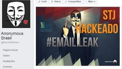Hackers divulgam supostos dados do STJ na web
