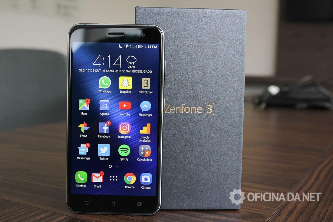 [Vídeo] Review do ASUS Zenfone 3. Um smartphone com ótimo custo/benefício