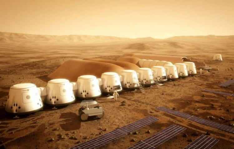 Redomas de vidro serão montadas em Marte para abrigar moradores