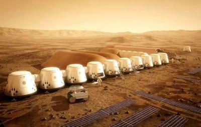 Redomas de vidro ser�o montadas em Marte para abrigar moradores