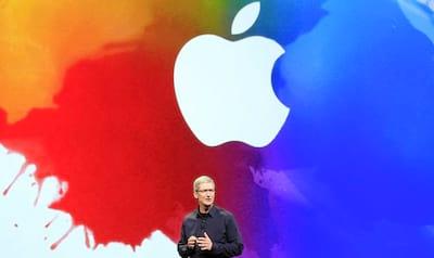 Apple anuncia seu relat�rio financeiro