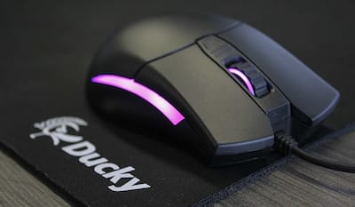 [V�DEO]Review mouse Ducky Secret, o melhor mouse do mundo?