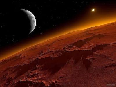 Viagens a Marte podem acarretar problemas � sa�de de astronautas, diz NASA