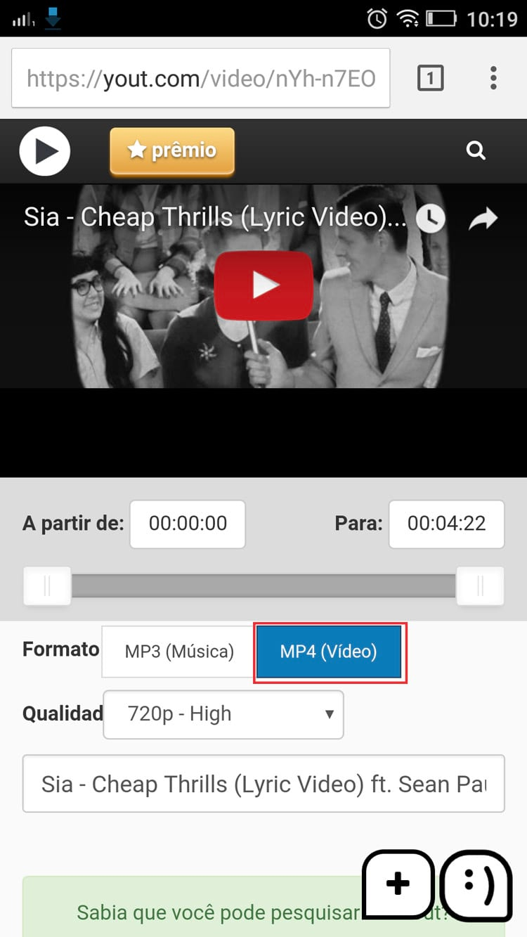 como baixar videos do youtube para o celular iphone