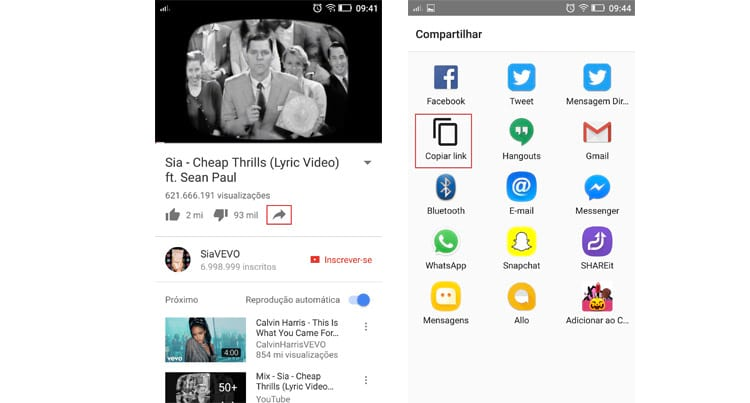Como baixar vídeos do YouTube para assistir no celular?