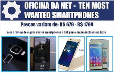Os 10 smartphones mais procurados pelos brasileiros em Outubro de 2016