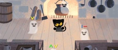 Doodle do Google tem jogo em comemoração ao Halloween
