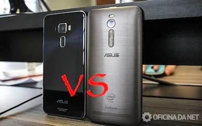 Comparativo entre Zenfone 2 e Zenfone 3