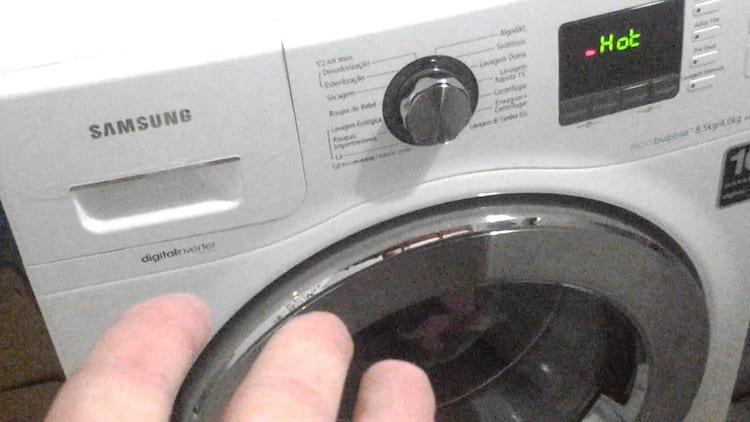 Samsung anuncia recall de máquinas de lavar
