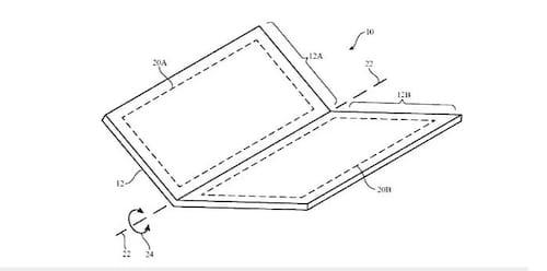 Apple registra patente de celular flexível