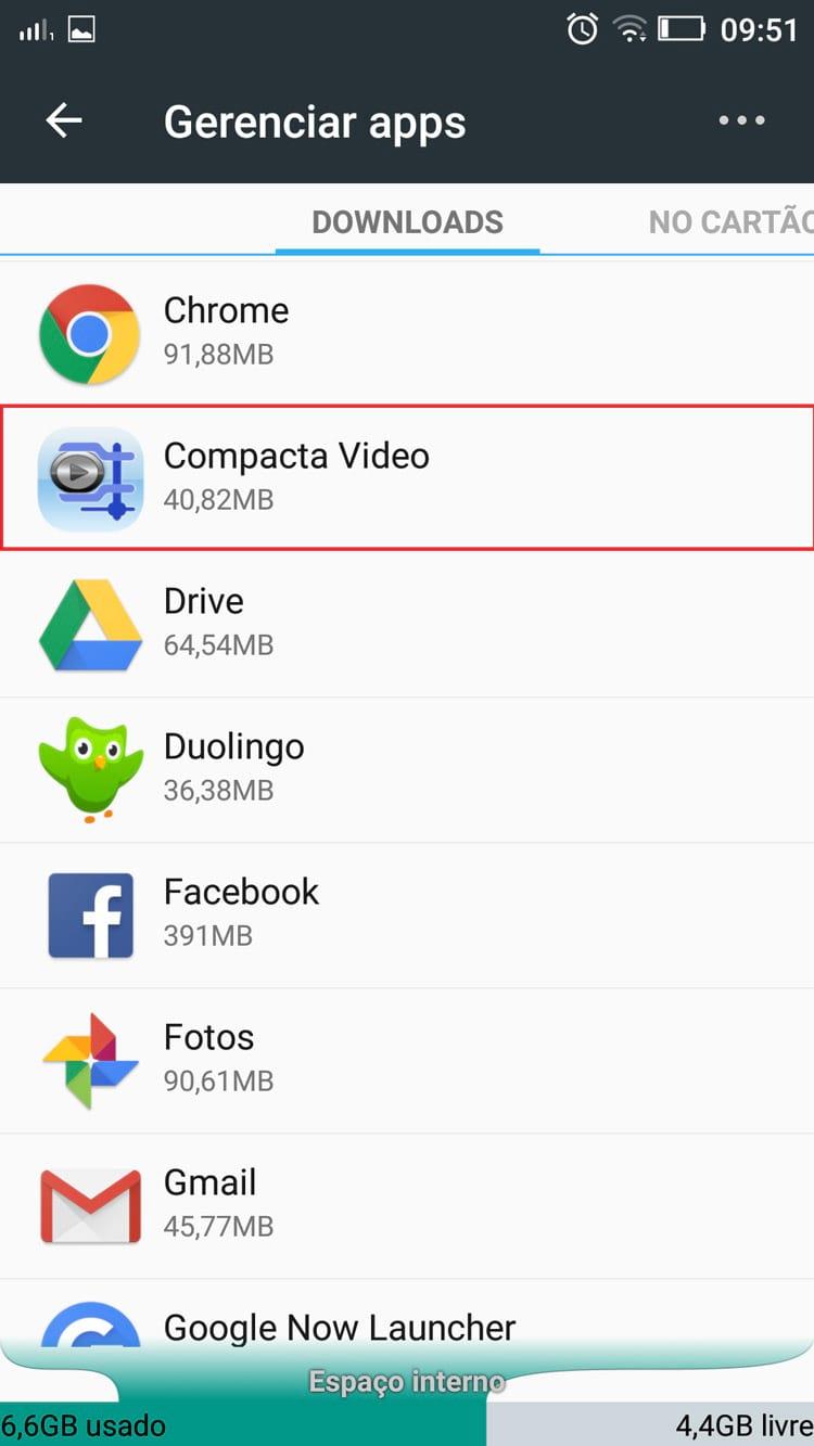 Como mover aplicativos Android para o cartão de memória