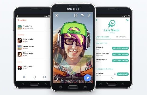 Facebook lança no Brasil app semelhante ao Snapchat