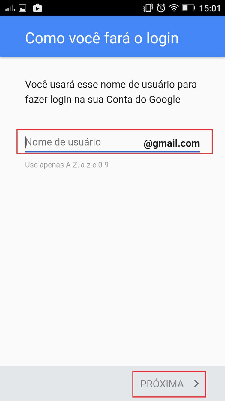 Como fazer um Gmail pelo celular?