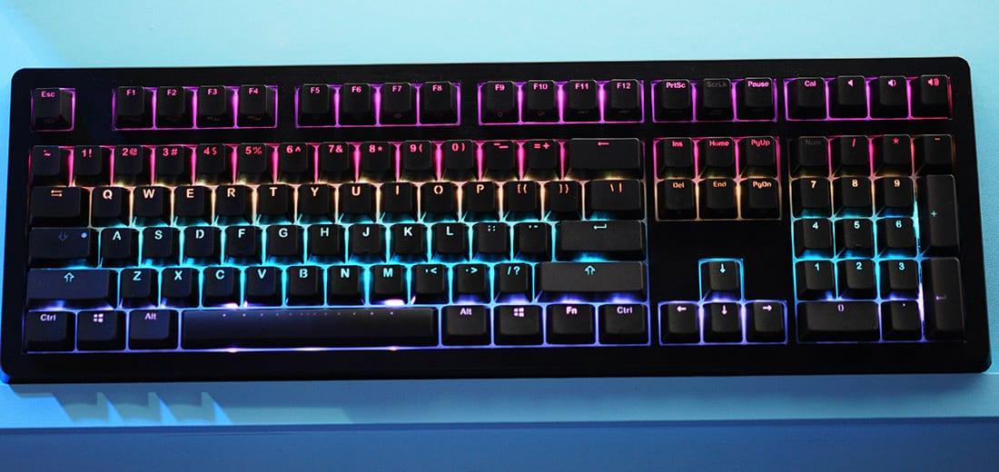 O tão desejado Ducky Shine 5, um dos melhores teclados mecânicos do mundo