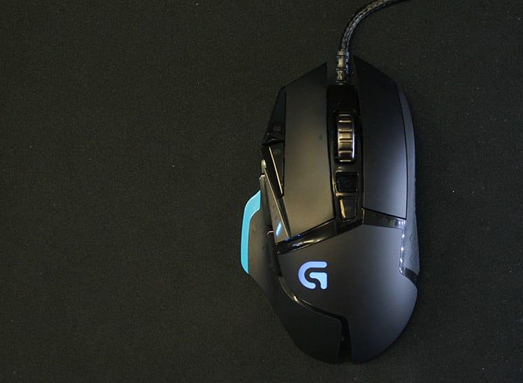 Review: Mouse Logitech G502 Proteus Core