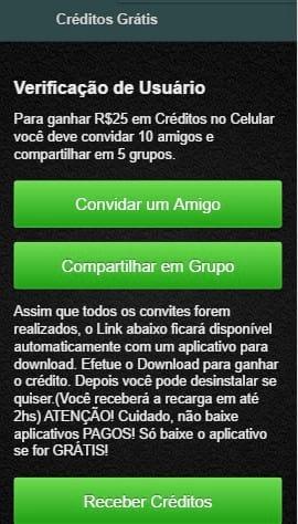 Novo golpe do Whatsapp oferece créditos para celular