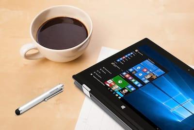 """Conheça o notebook híbrido com  tela sensível ao toque de 11,6"""" da Positivo"""