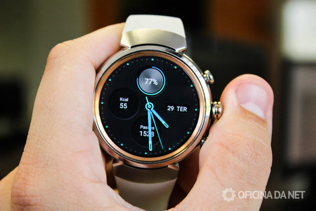 Análise ASUS ZenWatch 3 - Review