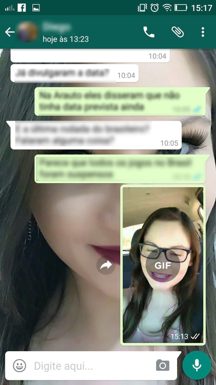 Como transformar vídeos curtos em GIFs no WhatsApp (Android e iPhone)