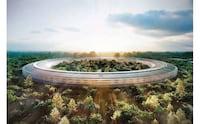 Imagens aéreas mostram como estão as obras do Apple Campus 2