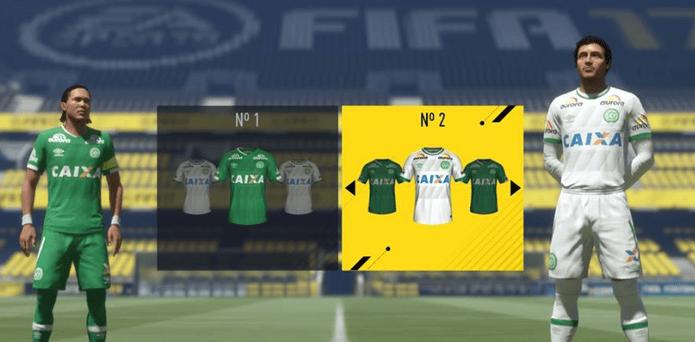 Em homenagem ao Chapecoense, FIFA 17 libera uniforme gratuitamente