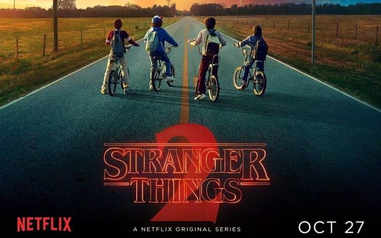 Stranger Things - 2 temporada em 27 de outubro de 2017