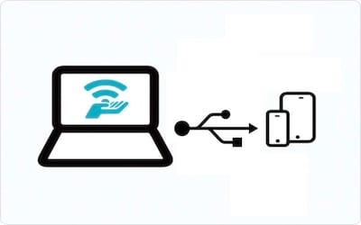 Como compartilhar internet com seu iPhone via cabo USB