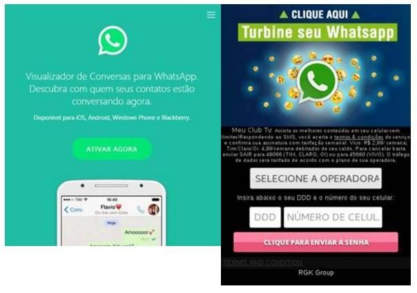 Novo golpe no WhatsApp promete visualização de conversas