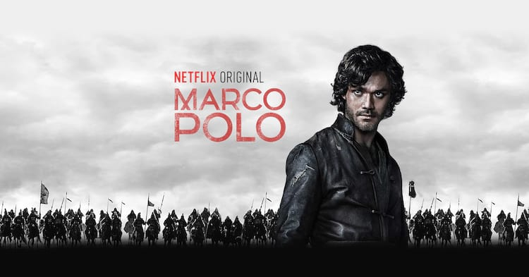 É o fim do seriado Marco Polo!