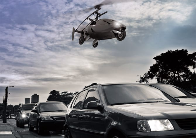 Será? Carro voador de Larry Page é visto em aeroporto