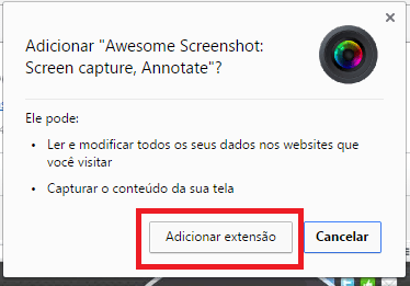 Como tirar print no Chrome?