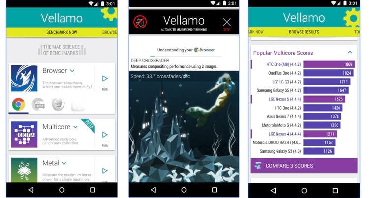 3 ferramentas para benchmark de smartphones