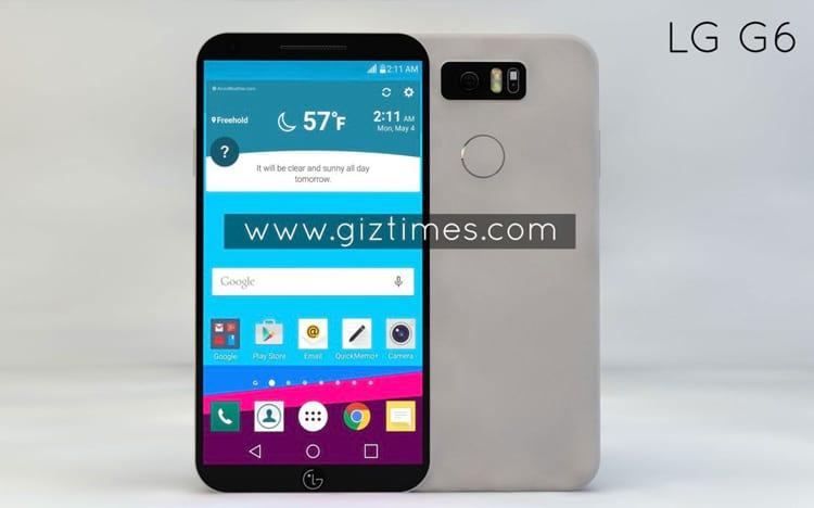 Conceito de LG G6.