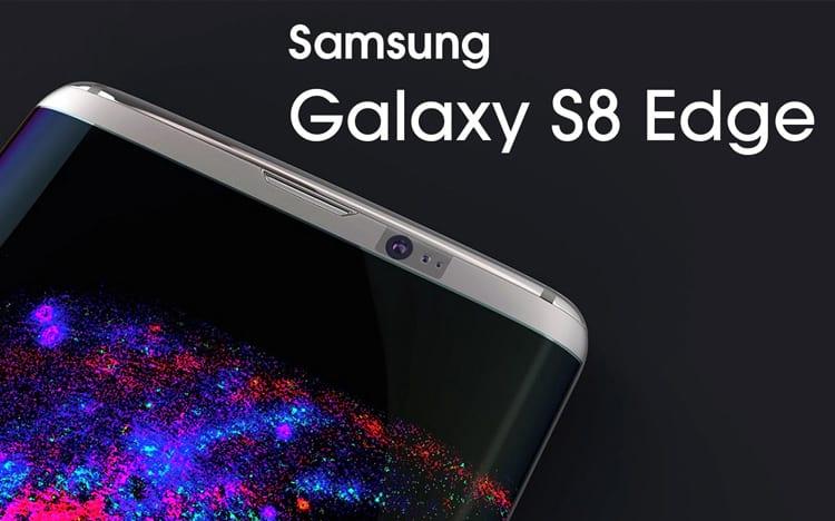 Um conceito qualquer de um possível Galaxy S8 Edge