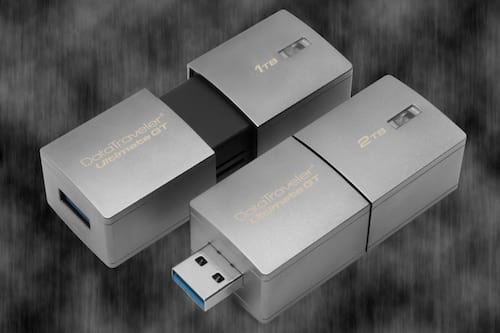 Kingston anuncia pendrive de 2TB