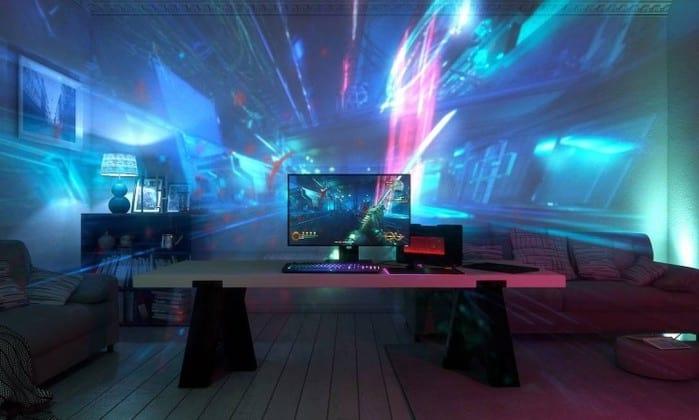 Razer revela Project Ariana, o 1º sistema de projeção do mundo desenvolvido para games