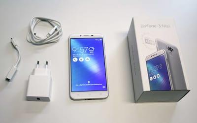 Unboxing e primeiras impressões do Zenfone 3 Max (ZC553KL)
