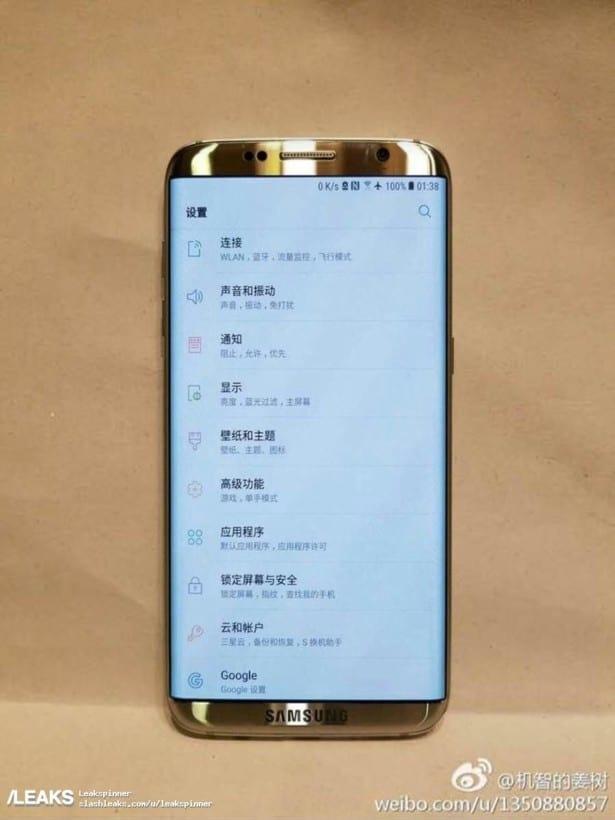 Imagem vazada do Galaxy S8 revela mudança drástica de design