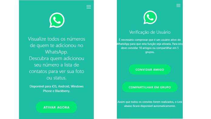 Novo golpe no WhatsApp que diz mostrar quem adicionou você já atingiu 260 mil brasileiros