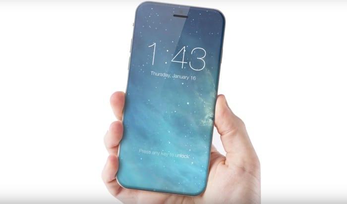 Rumores sobre design do iPhone 8 se intensificam (Imagem: Reprodução/Internet)