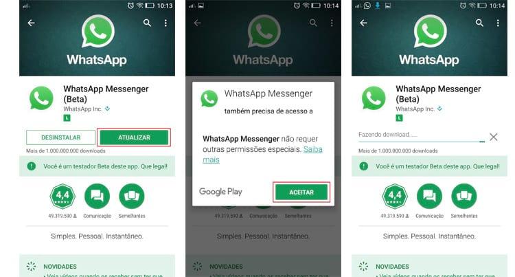 WhatsApp Beta possui busca interna por GIFs. Veja como usar