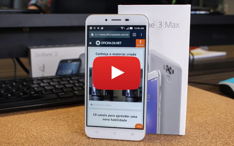 Review Zenfone 3 Max [vídeo]