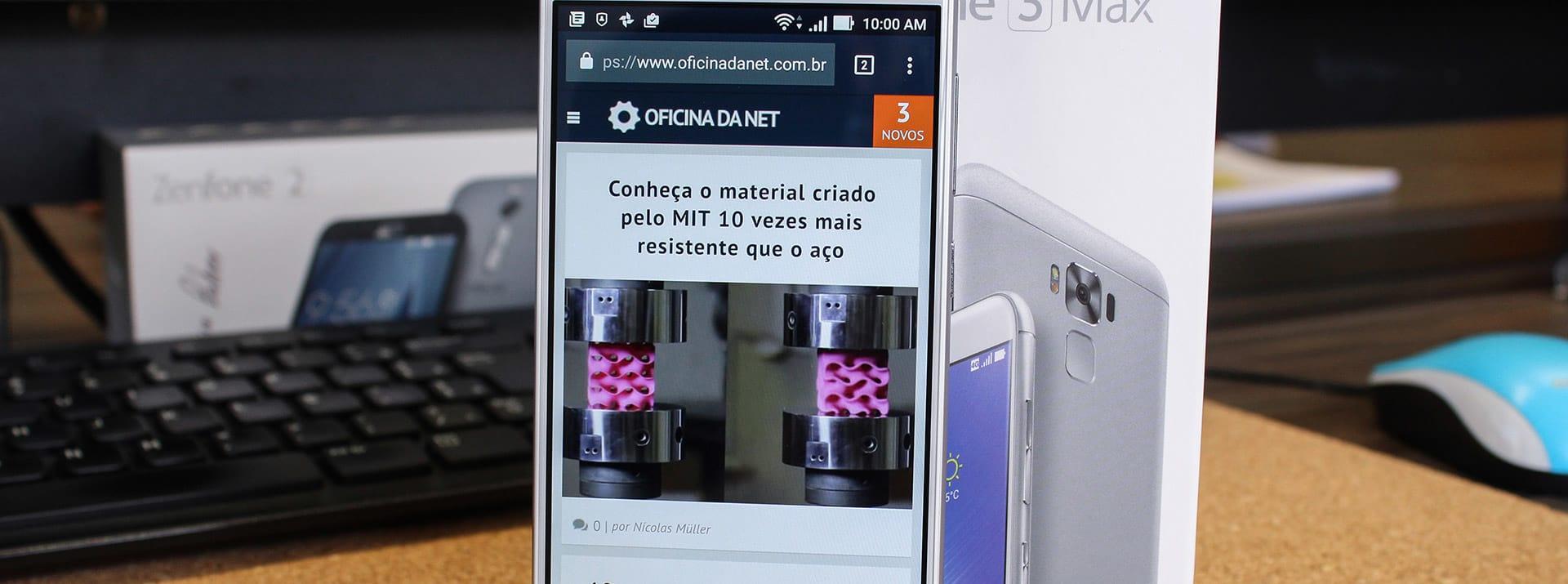 c2e7a91fb88 Review Zenfone 3 Max [vídeo]