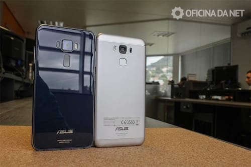 Comparativo entre Zenfone 3 e Zenfone 3 Max