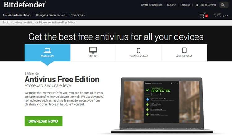 Melhores antivírus gratuitos de 2017