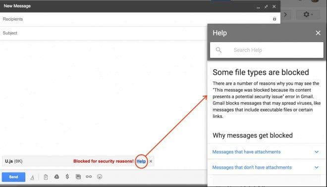 Gmail vai passar a bloquear arquivos JavaScript a partir de fevereiro