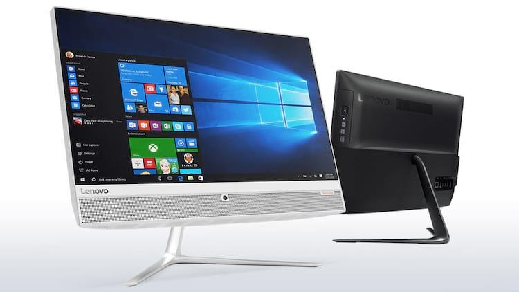 Lenovo lança computador de 21,5 polegadas sem bordas