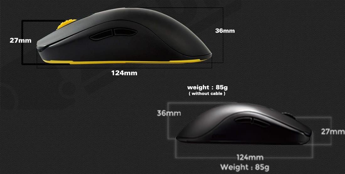 Review: Mouse Zowie FK1, um mouse ambidestro de elite