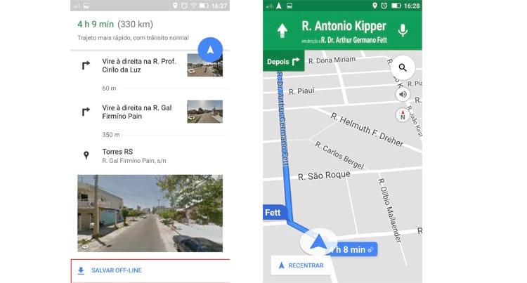 Como usar o Google Maps mesmo sem internet