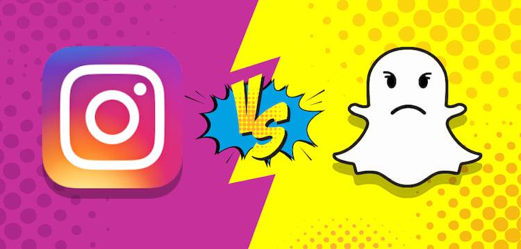 Instagram Stories reduz interações no Snapchat em até 40%